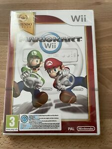 Mario Kart Wii Nintendo Selects Game Only UK PAL Classic Brand New Sealed.
