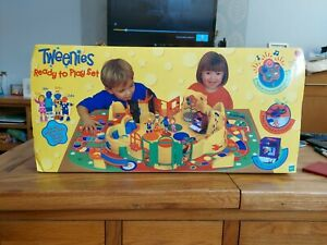 Tweenies Playset with extras Fizz Milo Bella and Jake, DVD and McDonald's toys