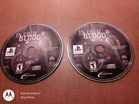 Sony PlayStation 1 PS1 PSOne Disc Only In Cold Blood Disc 1 & 2 Ships Fast