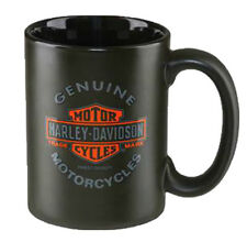Harley-Davidson® 15oz Bar & Shield Motorcycles Black Coffee Mug Cup HDX-98606
