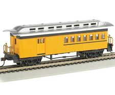 Bachmann 13503 HO 1860-1880 Combine Painted Unlettered Yellow Passenger Car