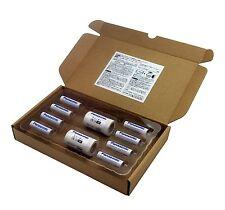 AA to C Size Adapter LR14 w/ Panasonic Eneloop Batteries AA Rechargeable 1900mAh