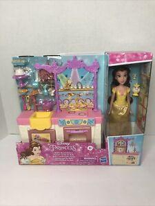 Disney Princess Belle's Royal Kitchen, Includes 13 Accessories