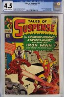 TALES OF SUSPENSE #52 CGC 4.5 1ST BLACK WIDOW MOVIE COMING!!