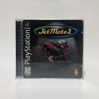 Jet Moto 2 (Sony PlayStation 1, 1997) Black Label Tested& Working Ps1