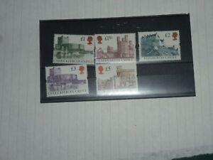 GB STAMPS CASTLES, CV - £50.00 F.V.-£12.50