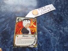 Naruto Cards TCG CCG  TP1 600 DANZO black + FREE Lucky Penny!