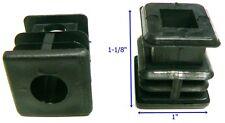 "Oajen caster socket furniture insert for socket stem, use with 1"" OD tube, 4 pcs"