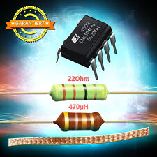 LNK304PN + Résistance 22 Ohm 3W + HF Accélérateur 470 Μ H + Entloetlitze