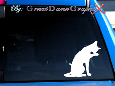 Siamese Cat #1 -Vinyl Decal Sticker -Color -High Quality