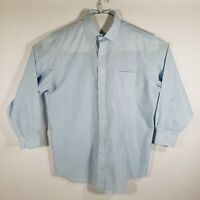 Brooks Brothers Mens Dress Shirt Buttons Long Sleeve 100% Cotton Size 16.5/32-33