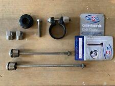 Pitlock bike security, incl. 2 skewers, 1 headset, 1 seatpost bolt, 2 pit locks