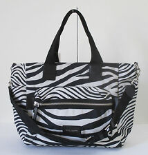 New Marc Jacobs Zebra Biker Baby Diaper Shoulder Handbag
