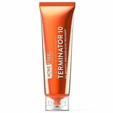 Acne Free Terminator 10 Spot Treatment Benzoyl Peroxide 10% Max Strenght 1 oz