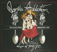 Janes Addiction Alive at Twenty. Deluxe. Blu-Ray, DVD and CD.