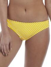 Freya Beach Hut Bikini Brief Bottoms 6793 Womens Swimwear California Yellow