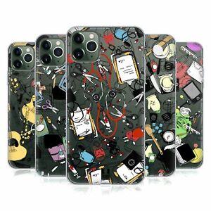 HEAD CASE DESIGNS DOODLE PROFESSIONS SOFT GEL CASE FOR APPLE iPHONE PHONES