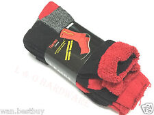 3 pairs x Size 11-14 Heavy Duty Work Ski Wool Socks Extreme Double Layer