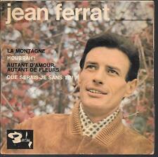 EP 4 TITRES--JEAN FERRAT--LA MONTAGNE / HOURRAH