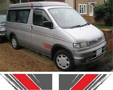 Mazda Bongo Friendee Auto Free Top Door  stickers decals replacements any colour