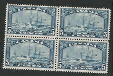 Canada, Royal William, 1933, block, NH and Hinged (upper two), nice block