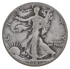 1941-D Walking Liberty 90% Silver US Half Dollar *240