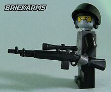 Brickarms M21 Sniper Rifle for Lego Minifigures (5 Pack) Black