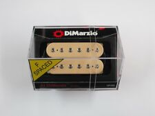 DiMarzio F-spaced Al DiMeola Bridge Humbucker Creme W/Chrome Poles DP 202
