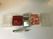 JON-E Hand Warmer -Vintage -W/Manual & Carry Bag -New ORIG CASE AND FUEL TRAY