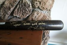 RICKIE WEEKS AUTOGRAPH GAME USED  BASEBALL BAT TL-RW23-M PRO SELECT LIMITED