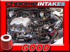 BLACK RED 1999 2000 2001 2002-2005 BUICK CENTURY 3.1 3.1L V6 AIR INTAKE KIT