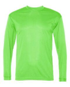 MEN'S MOISTURE WICKING Dri fit Long Sleeve SPORT-TEK T-shirt NEW XS-4XL ST350LS