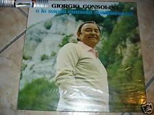 Giorgio Consolini - canzoni sentimentali - LP NUOVO