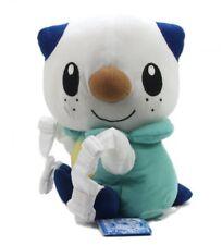 "Pokemon Best Wishes B&W Banpresto Plush Backpack 10"" Mijumaru/Oshawott"