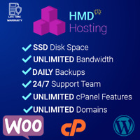 1 Year Unlimited Cloud Web Hosting, cPanel with Softaculous + support