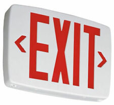 Lithonia Lighting Quantum Thermoplastic LED Emergency Exit Sign (Damaged Box)