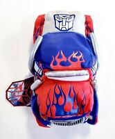 New Hasbro Transformers On The Go Cuddle Pillow Optimus Prime Truck Plush 14""