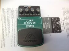 NEW never used Behringer UF300 Ultra Flanger Effects Pedal w. manual no org box