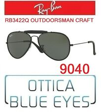 Occhiali sole RAYBAN RB3422Q 9040 OUTDOORSMAN CRAFT Sunglasses Ray Ban AVIATOR