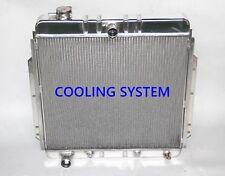 Polished KKS 3 Rows all aluminum radiator 1953-56 ford F-100 truck pickup