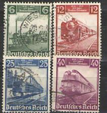 Germany Third Reich 1935 Sc# 459-462 Used Vg/F - German Trains