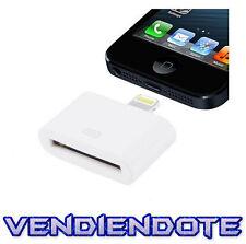Adaptador 30 pin a 8 pin para iPhone 5 Lightning Conversor Cable iPhone 4 Ipad