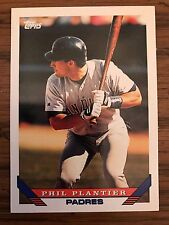 1993 Topps Traded Phil Plantier San Diego Padres 42T