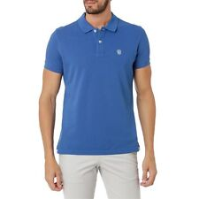 Men Galvanni Cleob Polo Shirt Indigo Small CS078 FF 16