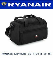 Ryanair Holdall Bag Small 35 x 20 x 20 cm Cabin Carry on Flight Hand Luggage NEW