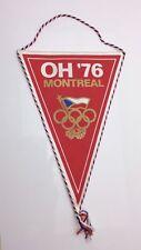 1976 CSSR Montreal Olympic Czecholsovak NOC Pennant E593