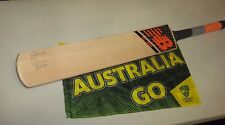 Steve Smith (Australian Captain) signed New Balance Orange TC360  Cricket Bat #2