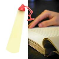 Black Reading Lamp Bookmark Stationery School Office Children Gift Decor