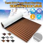 9435eva Foam Boat Marine Yacht Deluxe Flooring Mat Faux Teak Decking Sheet