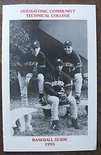 1995 Housatonic Community Technical College Baseball Media Guide, 20 pages